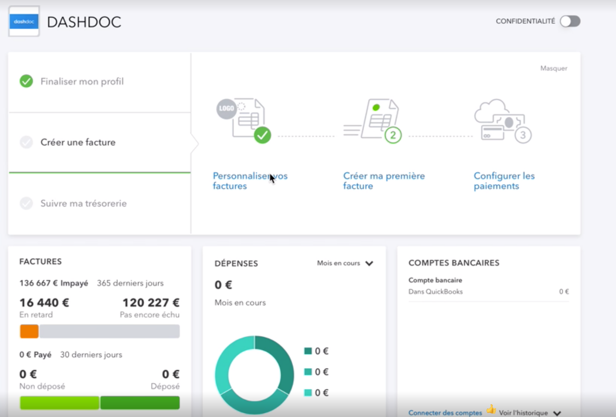 quickbooks logiciel de facturation transport